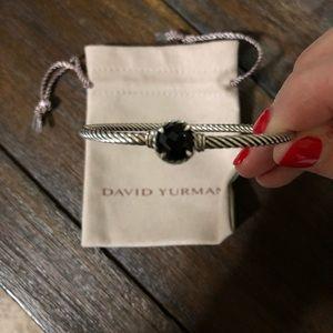 David Yurman Chateline bracelet black onyx